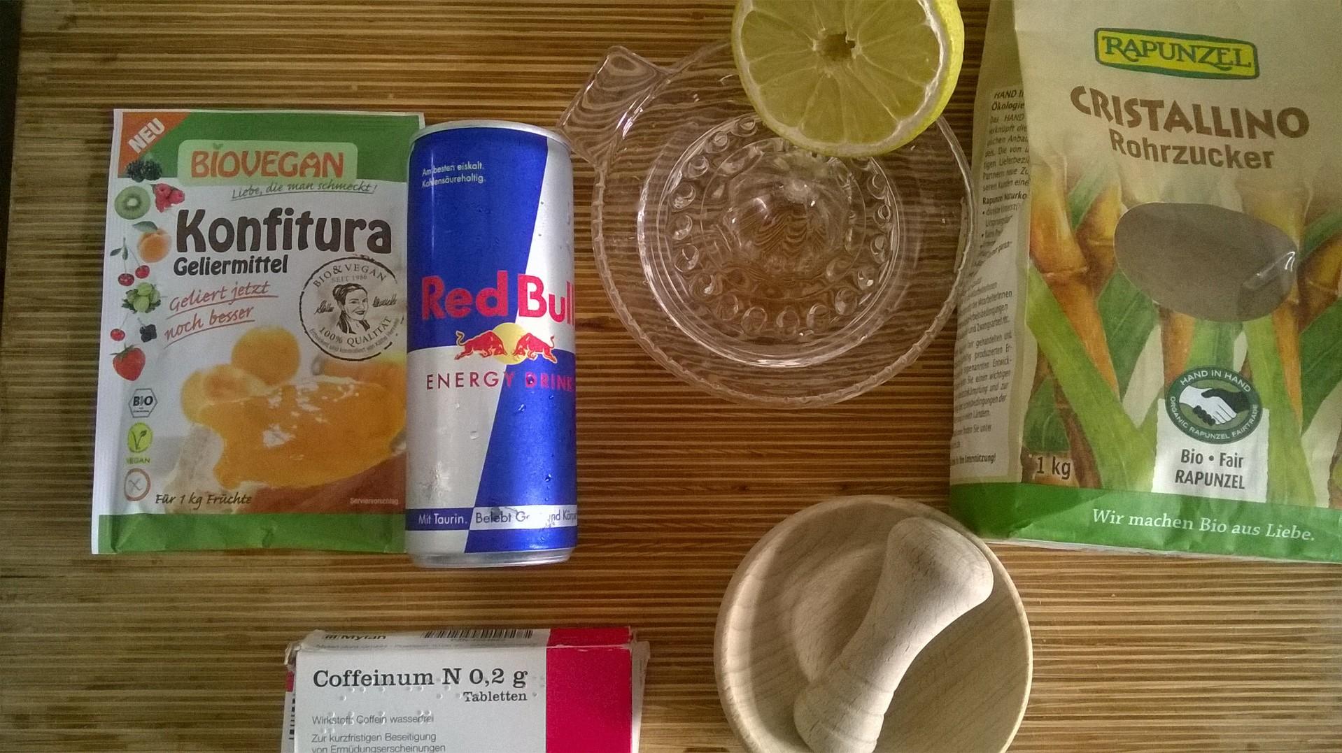 Red Bull Kühlschrank Wird Heiß : Rezept red bull marmelade mit koffeinstückchen der burtchen