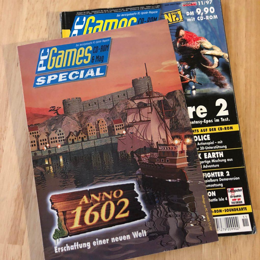 Anno 1602 Sonderbeilage PC Games