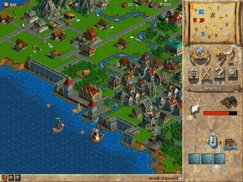 Anno 1602: Stadt mit Wasser